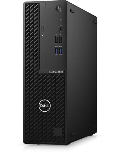 Пк Dell Optiplex 3080 SFF Core i5-10500 (3,1GHz) 8GB (1x8GB) DDR4 256GB SSD Intel UHD 630 TPM W10 Pro 1y NBD