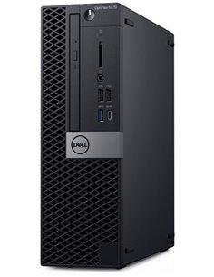 Персональный компьютер Dell Optiplex 5070 SFF Core i5-9500 (3,0GHz) 8GB (1x8GB) DDR4 256GB SSD Intel UHD 630 TPM Linux 3 years N