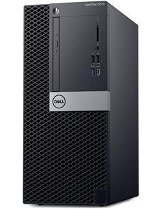 Персональный компьютер Dell Optiplex 5070 MT Core i5-9500 (3,0GHz) 8GB (1x8GB) DDR4 256GB SSD Intel UHD 630 TPM Linux 3 years NB